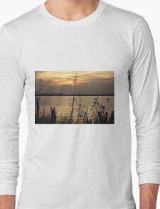 Reeds at Sunset Long Sleeve T-Shirt