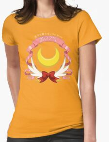 Sailor Signs - Moon Womens Fitted T-Shirt