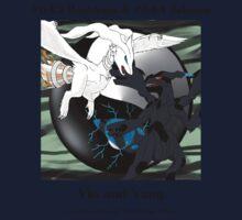 Reshiram & Zekrom: Yin & Yang Kids Tee