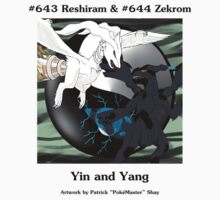Reshiram & Zekrom: Yin & Yang Kids Clothes