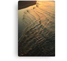 Tide comes in Canvas Print