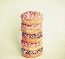 Stack of Donuts by Cassia