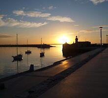 Dun Laoghaire Pier  by Matt Nolan