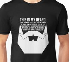 The Beard Creed White Unisex T-Shirt