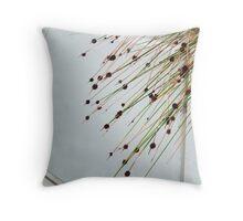 stems Throw Pillow