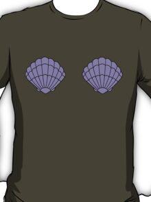 Ariel Little Mermaid Shell Bra Pattern T-Shirt