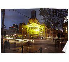 Flinders Street Station Poster
