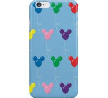 Mickey Balloons - Pattern iPhone Case/Skin