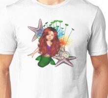 Little Mermaid Day At The Beach Unisex T-Shirt