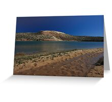 Castle Rock, Murchison River Greeting Card