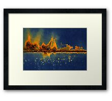 City Under Seize Framed Print