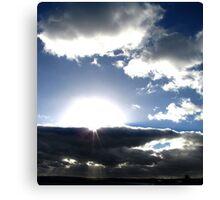 Deep rays Canvas Print