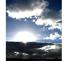 Deep rays Photographic Print