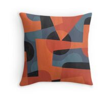 Abstract XXXIX Throw Pillow