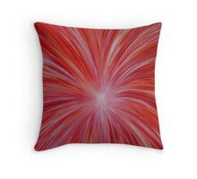 "Fine art. Abstract ""Fire energy"" Acrylic painting.  Throw Pillow"