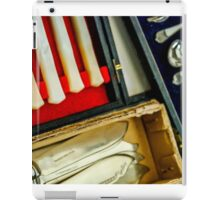 Silverware Greenwich Market iPad Case/Skin