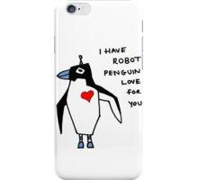 Penguin Robot iPhone Case/Skin