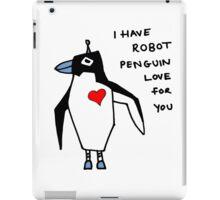 Penguin Robot iPad Case/Skin