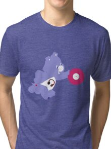 care bear dj Tri-blend T-Shirt