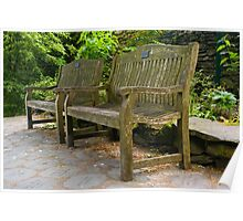 Grasmere Benches Poster