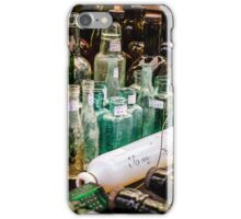 Bottles Greenwich Market iPhone Case/Skin
