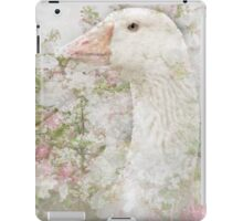 Goose in Spring Blossoms iPad Case/Skin