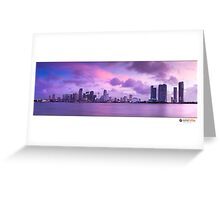 Miami city  Greeting Card