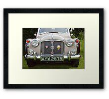 Classic British Rover Framed Print