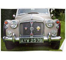 Classic British Rover Poster