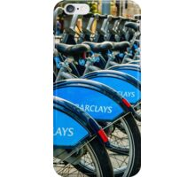 Bicycles London England iPhone Case/Skin