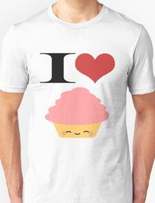 I <3 Cupcakes Unisex T-Shirt