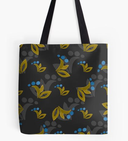 FloralPattern Tote Bag