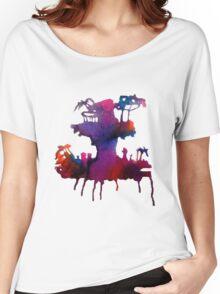 Gorillaz Plastic Beach Women's Relaxed Fit T-Shirt