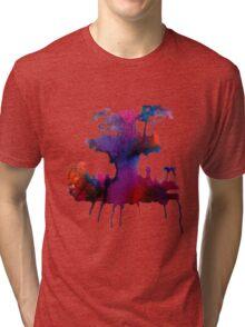 Gorillaz Plastic Beach Tri-blend T-Shirt