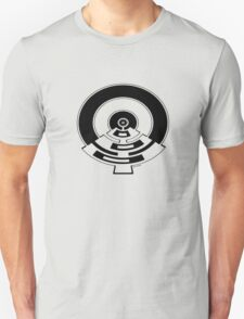 Mandala 23 Eight Ball Back In Black Unisex T-Shirt