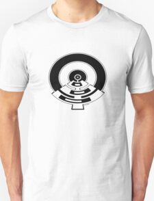 Mandala 23 Eight Ball Back In Black Unisex T-Shirt