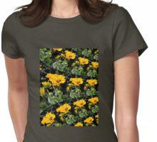 Yellow coneflower Womens Fitted T-Shirt