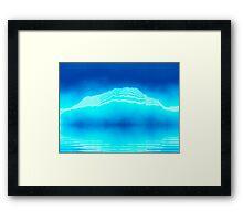 Antarctica Glacier Framed Print