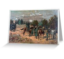 Civil War Battle of Chattanooga by Thulstrup (1880) Greeting Card