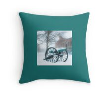 The Old Cannon Throw Pillow
