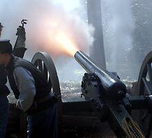 Cannon Fire by Regenia Brabham