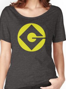 Minion logo- Gru despicable me Women's Relaxed Fit T-Shirt