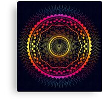 Rich Mandala  Canvas Print