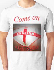 Come On England - Make Us Smile Unisex T-Shirt