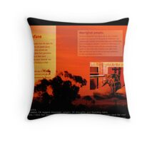 It's All About The Land Throw Pillow
