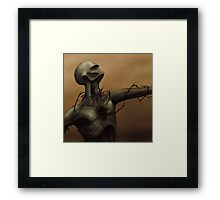 Pain From Within Framed Print