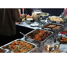 indonesian food Photographic Print