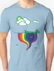 Gushing Rainbows T-Shirt