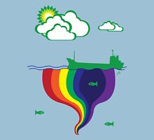 Gushing Rainbows Unisex T-Shirt