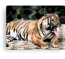Tiggers Don't Like Honey.... Canvas Print